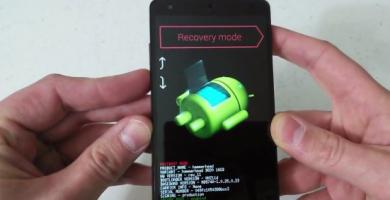 Restablecer los datos de fábrica de un celular Android