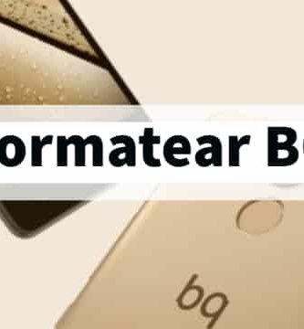 Cómo formatear un móvil BQ, aprende a resetear el smartphone a su estado de fábrica