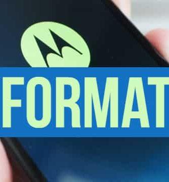 como resetear un smartphone Motorola paso a paso