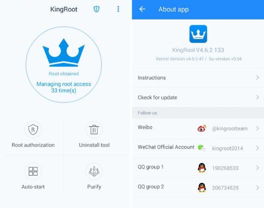 Al descargar la app de kingroot para android podrás hacer root al celular