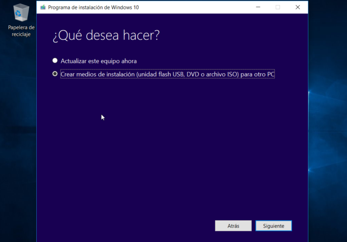 Tutorial para instalar windows 10 escoger opcion