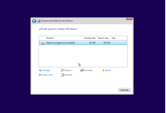 tutorial para instalar windows 10