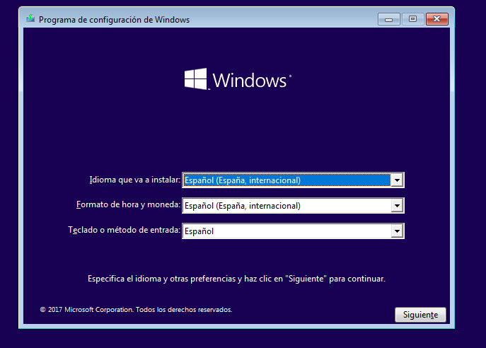 Tutorial instalar windows 10 paso a paso