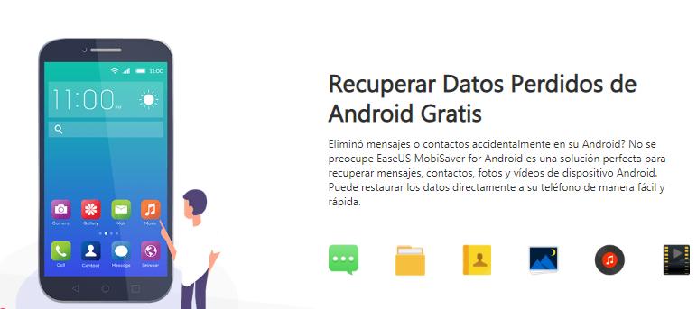 Programa para recuperar contactos en android desde el ordenador
