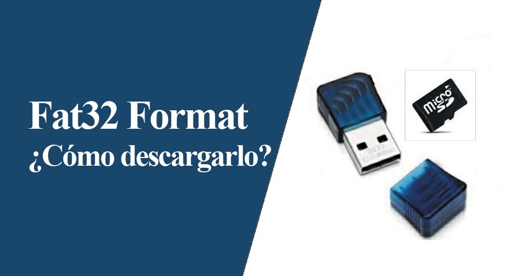 descargar fat32 format