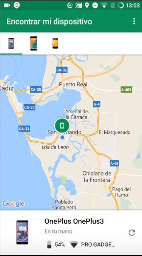Cómo rastrear un celular un celular con Google